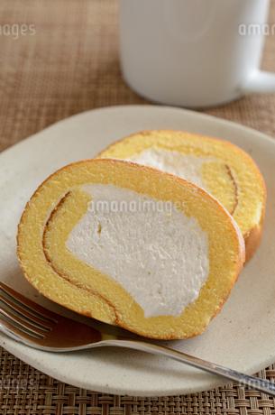 ロールケーキの写真素材 [FYI02982193]