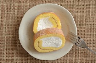 ロールケーキの写真素材 [FYI02982195]
