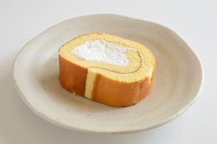ロールケーキの写真素材 [FYI02982197]