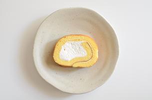 ロールケーキの写真素材 [FYI02982198]