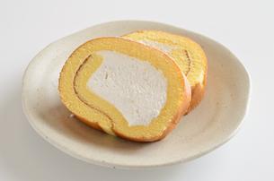 ロールケーキの写真素材 [FYI02982199]