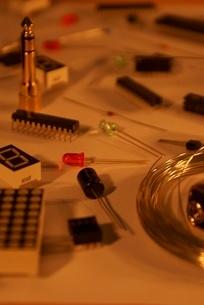 電子工作イメージの写真素材 [FYI02982449]