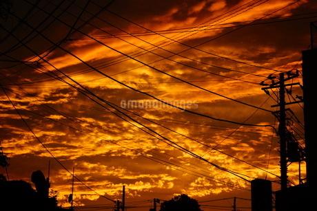 夕景イメージの写真素材 [FYI02982454]