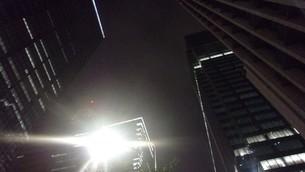 大手町の夜空の写真素材 [FYI02982522]