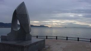 香川県高松市の海の写真素材 [FYI02982579]
