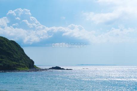 糸島の夏景色の写真素材 [FYI02982712]