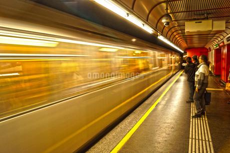オーストリア・ウィーンの鉄道の写真素材 [FYI02982740]