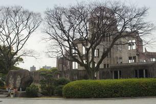 広島原爆ドームの写真素材 [FYI02982772]