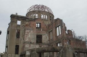 広島原爆ドームの写真素材 [FYI02982775]