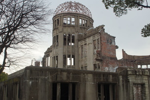 広島原爆ドームの写真素材 [FYI02982777]