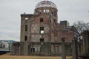 広島原爆ドームの写真素材 [FYI02982784]