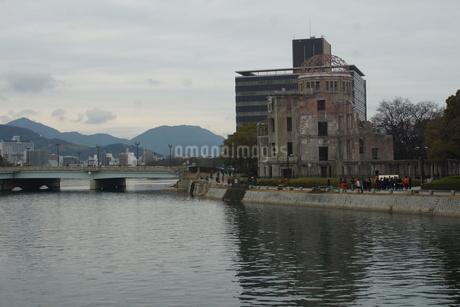 広島原爆ドームの写真素材 [FYI02982789]