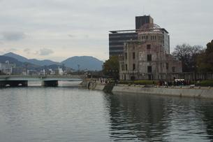 広島原爆ドームの写真素材 [FYI02982790]