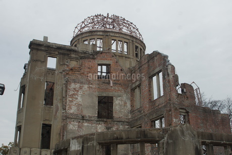 広島原爆ドームの写真素材 [FYI02982791]