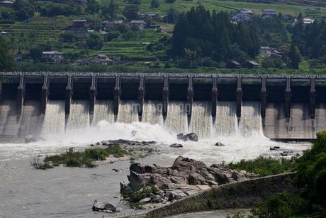 落合ダムの写真素材 [FYI02982808]