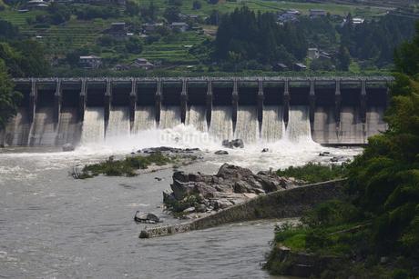 落合ダムの写真素材 [FYI02982809]