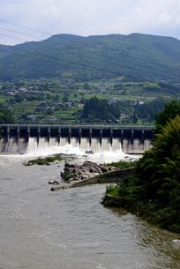 落合ダムの写真素材 [FYI02982810]