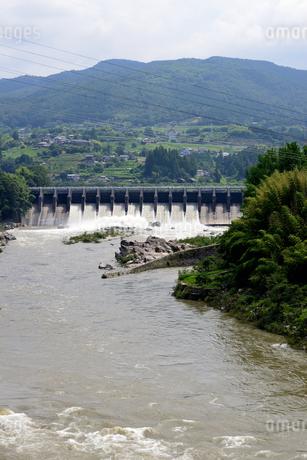 落合ダムの写真素材 [FYI02982811]
