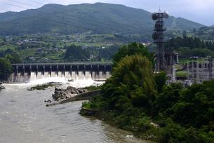 落合ダムの写真素材 [FYI02982812]