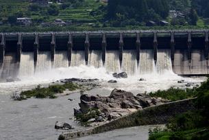 落合ダムの写真素材 [FYI02982813]