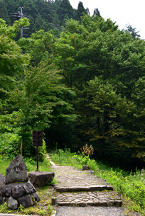 中山道の写真素材 [FYI02982816]