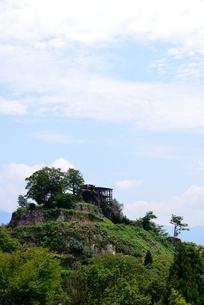 苗木城跡の写真素材 [FYI02982820]