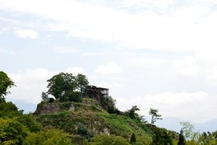苗木城跡の写真素材 [FYI02982821]