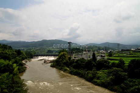 落合ダムの写真素材 [FYI02982822]