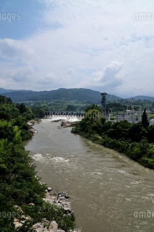 落合ダムの写真素材 [FYI02982823]