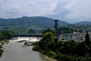 落合ダムの写真素材 [FYI02982824]