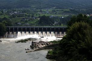落合ダムの写真素材 [FYI02982825]