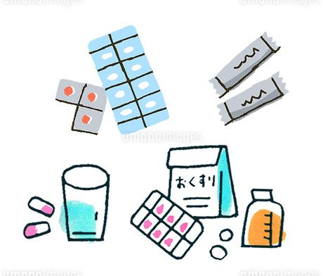 薬いろいろのイラスト素材 [FYI02983052]