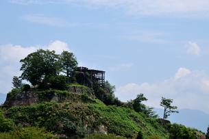 苗木城跡の写真素材 [FYI02983127]