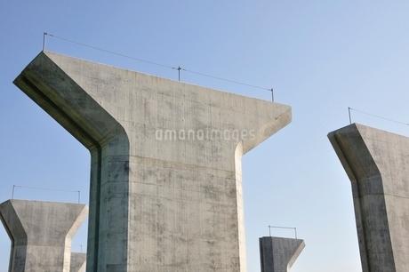 高速道路の建設の写真素材 [FYI02983170]