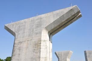 高速道路の建設の写真素材 [FYI02983176]