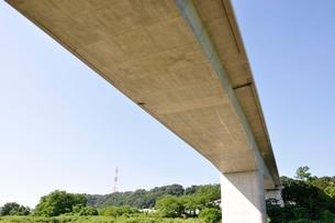建設中の高速道路のインターチェンジの写真素材 [FYI02983187]