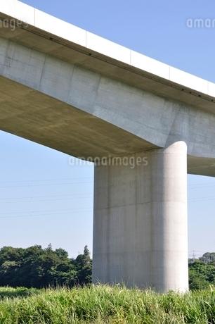 建設中の高速道路のインターチェンジの写真素材 [FYI02983191]