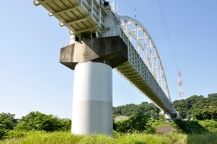かながわの橋100選 相模川水路橋の写真素材 [FYI02983192]