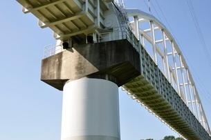 かながわの橋100選 相模川水路橋の写真素材 [FYI02983193]