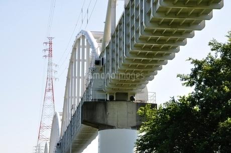 かながわの橋100選 相模川水路橋の写真素材 [FYI02983195]