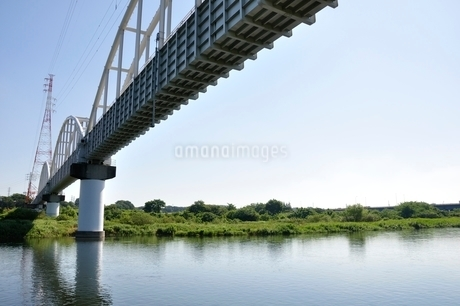 かながわの橋100選 相模川水路橋の写真素材 [FYI02983197]