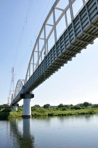 かながわの橋100選 相模川水路橋の写真素材 [FYI02983198]