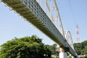 かながわの橋100選 相模川水路橋の写真素材 [FYI02983199]