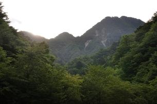 西丹沢 用木沢より大笄と小笄の写真素材 [FYI02983226]