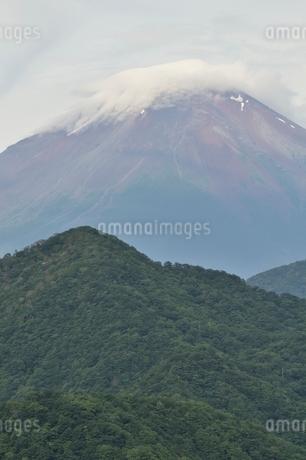大室山からの富士山の写真素材 [FYI02983255]