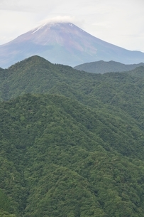 大室山からの富士山の写真素材 [FYI02983265]