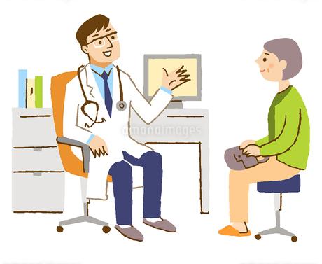 医師と患者2のイラスト素材 [FYI02983361]