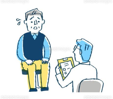 診察 医者と患者3のイラスト素材 [FYI02983377]
