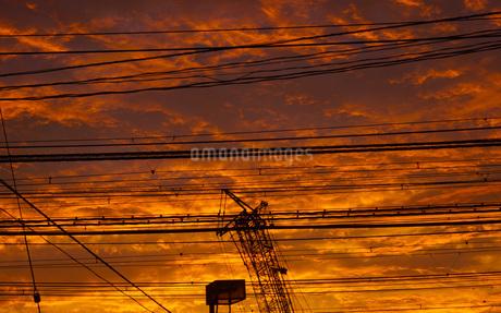 夕景イメージの写真素材 [FYI02983400]