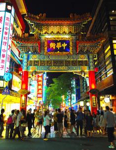 横浜中華街イメージの写真素材 [FYI02983408]